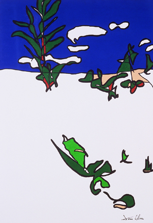Winter Landscape copyright 2003- Jason Oliva all rights reserved