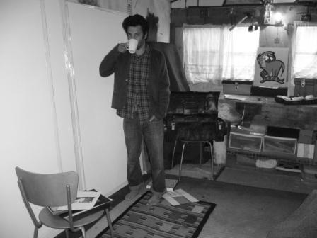 Jason Oliva New Studio Norwich 2007 Photograph Sophie Oliva