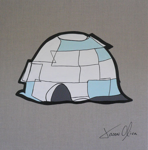 Igloo-jason-Oliva-2009-painting