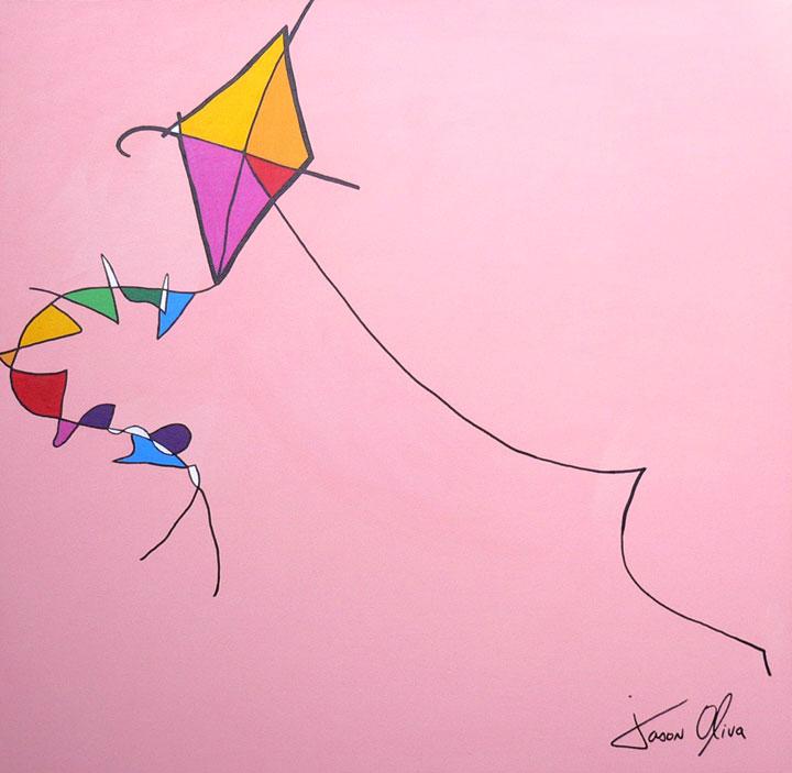 Kite-1-Jason-Oliva-2009 painting
