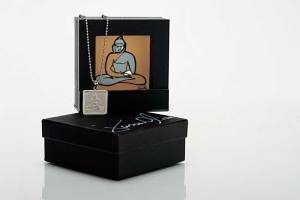 Picture Frame Box displaying signed 'Buddha' Print