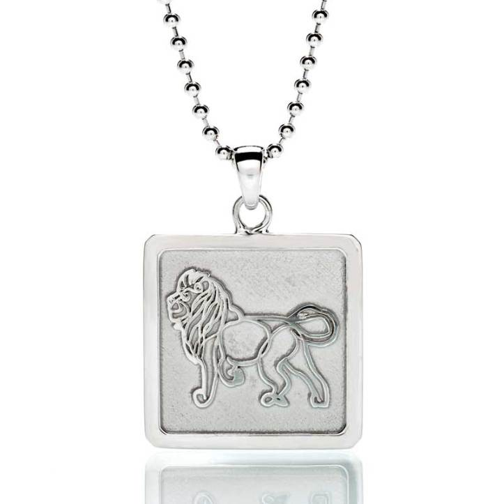 'Lion' Sterling Silver Frame