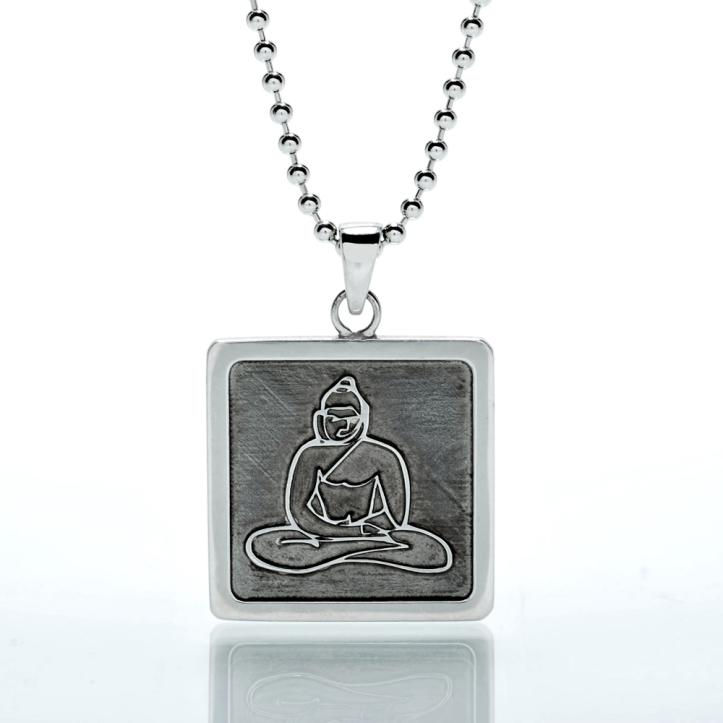 ABout Jason Oliva Sterling Silver Buddha Pendant