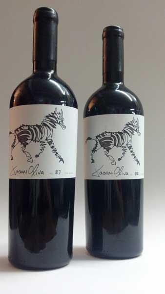 Wine Jason Oliva Wine Stripey Horse