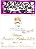 Keith Haring Chateau Mouton Rothschild