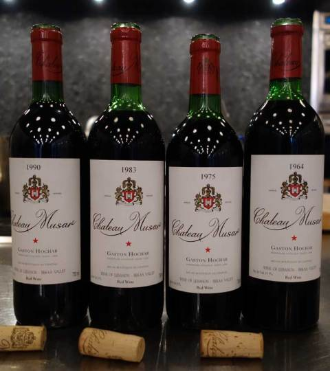 Serge Hochar Chateau Musar Rouge