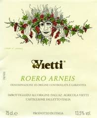 Artist Wine Labels Vietti wine