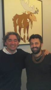 Artist Wine Labels Luca Carrado of Vietti WINE and Jason Oliva