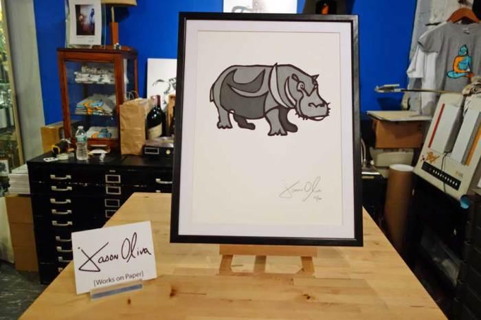 Hippo-Grey-Small-work-on-paper-jason-oliva-studio
