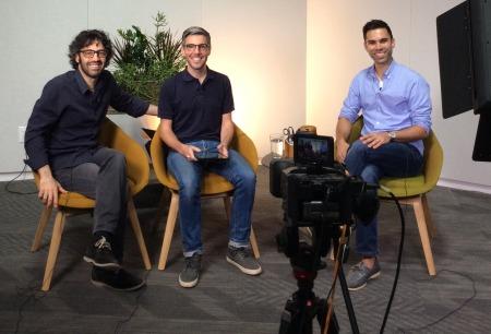 Jason Oliva's fireside Chat youtube video for ETSY