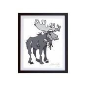 Moose-Grey-framed-small-work-on-paper-jason-oliva
