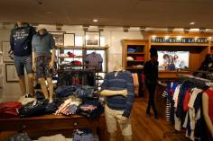 Ralph Lauren boys department on the 5th floor of Bloomingdales in NYC