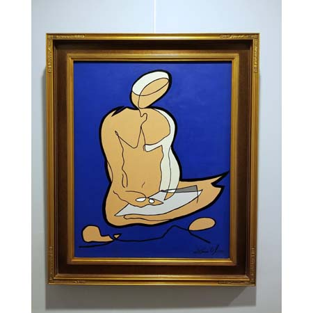 Jason Oliva sold painting Seated Scribe 2010