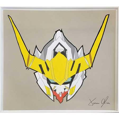 Recently sold painting Gundam Barbatos 2019by Jason Oliva